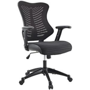 mi6200 Black Mesh Back Manager Task Chair