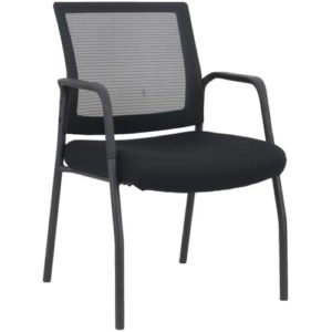 mi1500 Black Stacking Chair